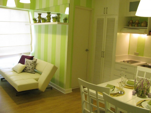 Interior Design Small Apartment with Lovely Soft Color_1