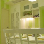 Interior Design Small Apartment with Lovely Soft Color_5