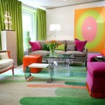 7 Simple and Colorful Living Rooms_4