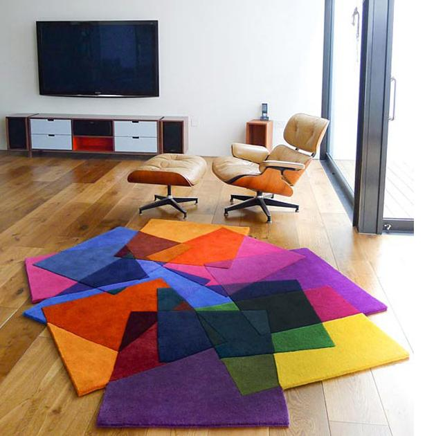 Fantastic Vibrant Contemporary Rugs