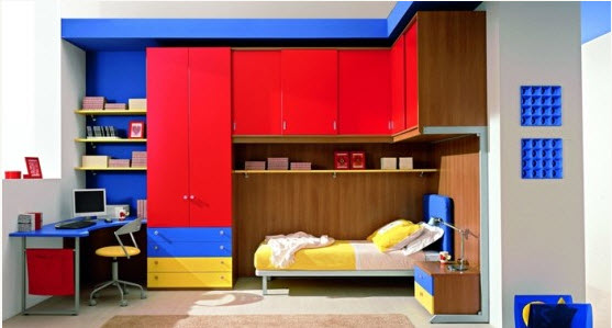 Colorful Boys Room Paint Idea S 15 At In Seven Colors