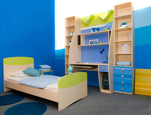 Colorful Boys Room Paint Idea S 6 At In Seven Colors Colorful
