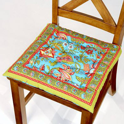 Colorful Dining Room Chair Cushions 2 At In Seven Colors Colorful Designs