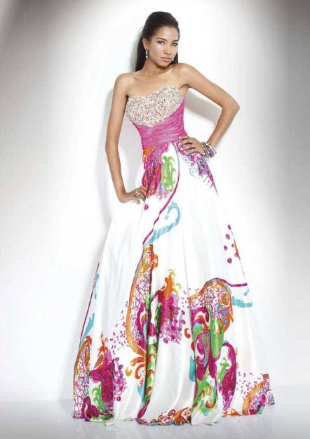 Multi color prom dresses cheap | Kica style dress 2018