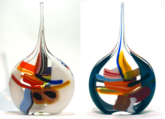 » Multi Colored Glass Vases_4 at In Seven Colors ...