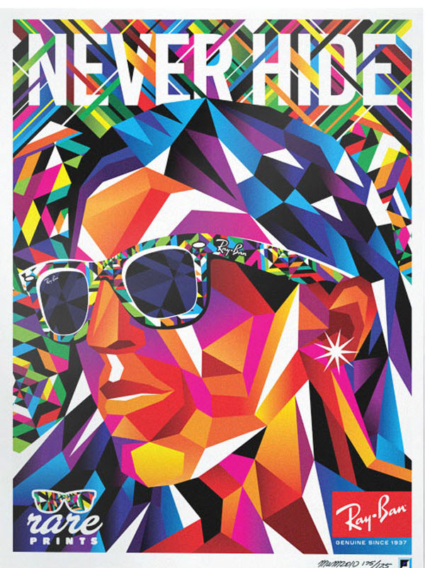 187 Pop Art Ray Ban Rare Prints Ads 5 At In Seven Colors