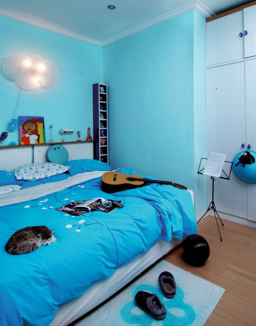 Amazing Bedroom Ideas Fair Of Amazing Blue Bedroom Design Image