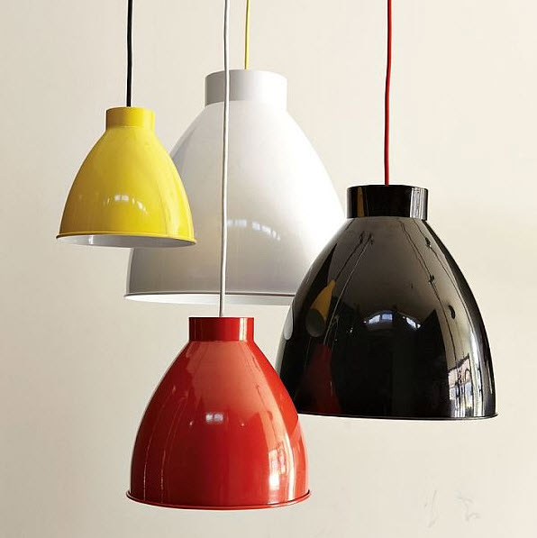 pendant lighting for dining room with fun colors at in seven colors colorful designs. Black Bedroom Furniture Sets. Home Design Ideas