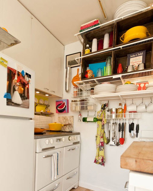 Applying 16 Bright Kitchen Paint Colors: » Bright Small Kitchen Remodel Ideas_15 At In Seven Colors