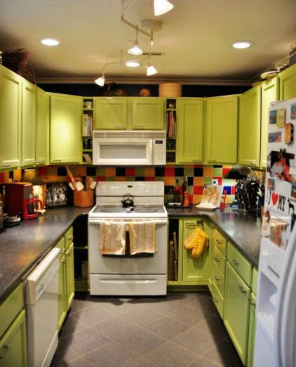 » Bright Small Kitchen Remodel Ideas_18 At In Seven Colors