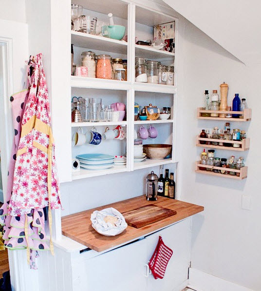 Applying 16 Bright Kitchen Paint Colors: » Bright Small Kitchen Remodel Ideas_4 At In Seven Colors