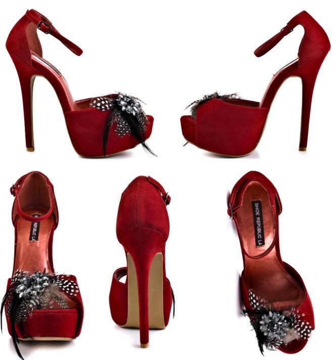 designer red wedding shoes - photo #16