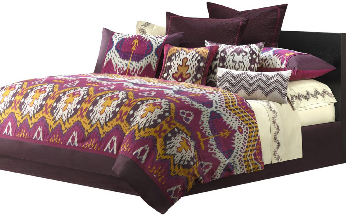 Colorful Bed Comforter Sets Full 8 At In Seven Colors