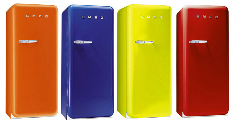 Colorful Retro style refrigerators | Things for the ...