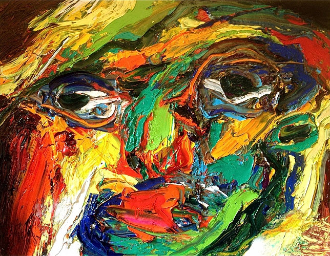Amazing abstract paintings by gerard stricher at in for Amazing art paintings