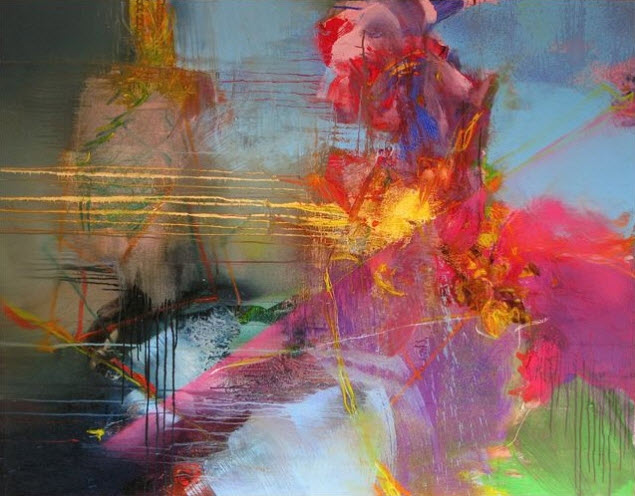Amazing Abstract Paintings By Gerard Stricher3 At In