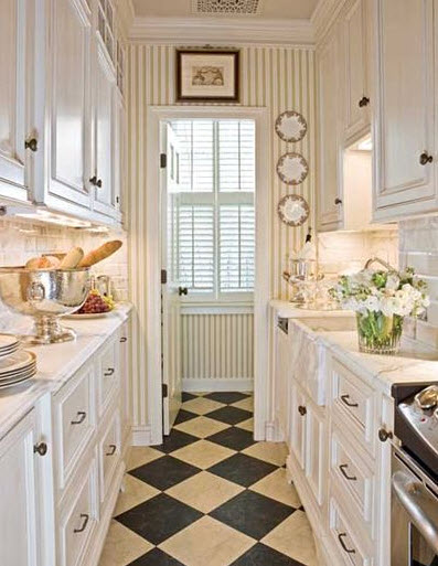 Pretty Bright Small Kitchen Color For Apartment Small Apartment Galley Kitchen Galley Kitchen Designs For Bright
