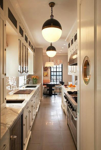 Bright Galley Kitchen Designs8 at In Seven Colors
