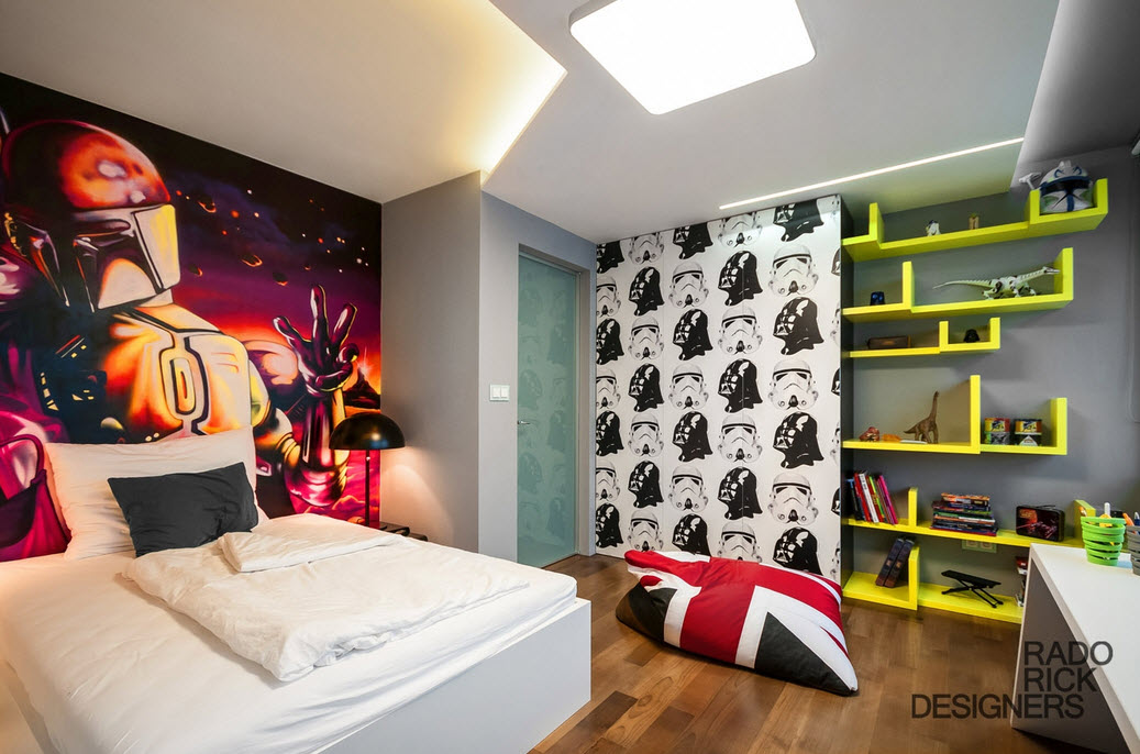 Star wars boy bedroom idea by rado rick designers at in for Poster jugendzimmer
