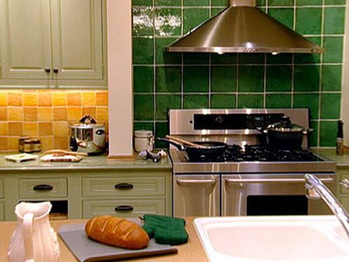 Colorful Kitchen Backsplash Pictures_13