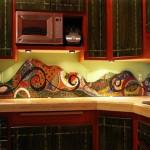 Colorful Kitchen Backsplash Pictures_15