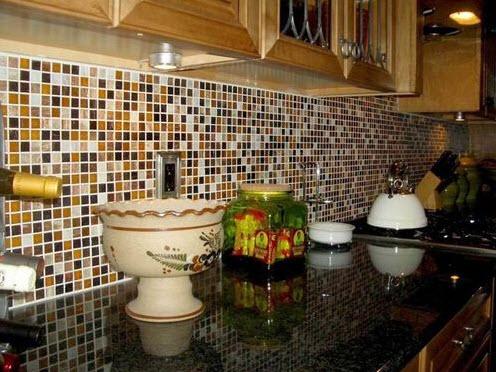 Colorful Kitchen Backsplash Pictures_16