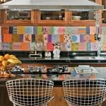 Colorful Kitchen Backsplash Pictures_19