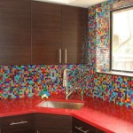 Colorful Kitchen Backsplash Pictures_23