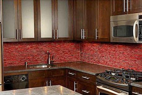 Colorful Kitchen Backsplash Pictures_25