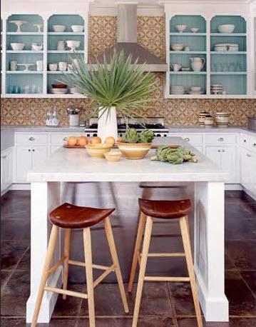 Colorful Kitchen Backsplash Pictures_27