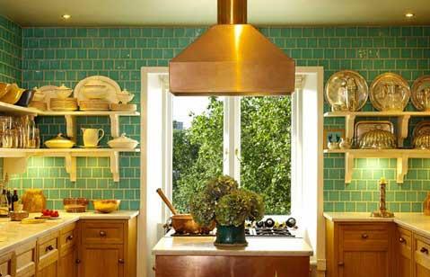 Colorful Kitchen Backsplash Pictures_30