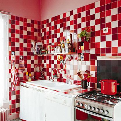 Colorful Kitchen Backsplash Pictures_34