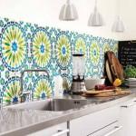 Colorful Kitchen Backsplash Pictures_35