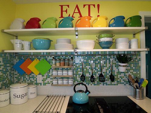 Colorful Kitchen Backsplash Pictures_4