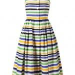 DOLCE & GABBANA Striped Sun Dress