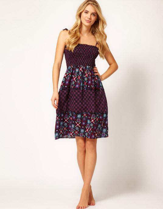 Freya Venetian Sun Dress