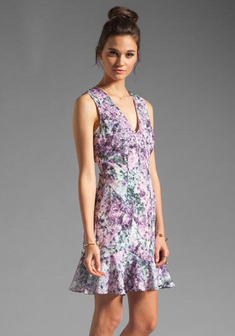 Keepsake Kiss the Sun Dress in Crystal Print