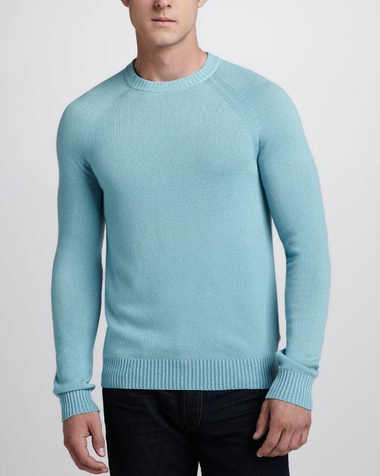 Theory Cashmere Raglan Sweater
