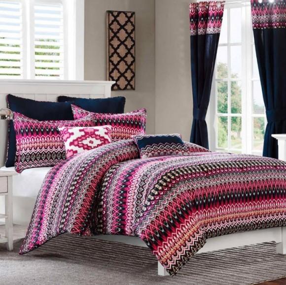 Colorful Bed Comforter Sets Full_3