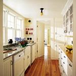 Bright Galley Kitchen Designs_2