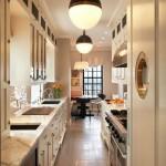 Bright Galley Kitchen Designs_8