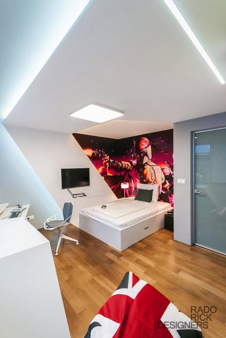 Star Wars Boy Bedroom Idea by Rado Rick Designers_3