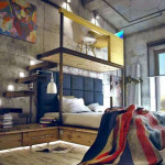 Fun and Colorful Loft Bed Ideas_7