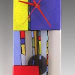 Glass Wall Clocks with Pendulum by Nina Cambron_4