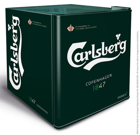 Husky Mini Countertop Fridge Carlsberg