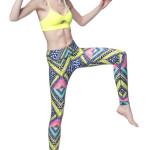 Mara Hoffman Activewear with Vivid Pattern and Color