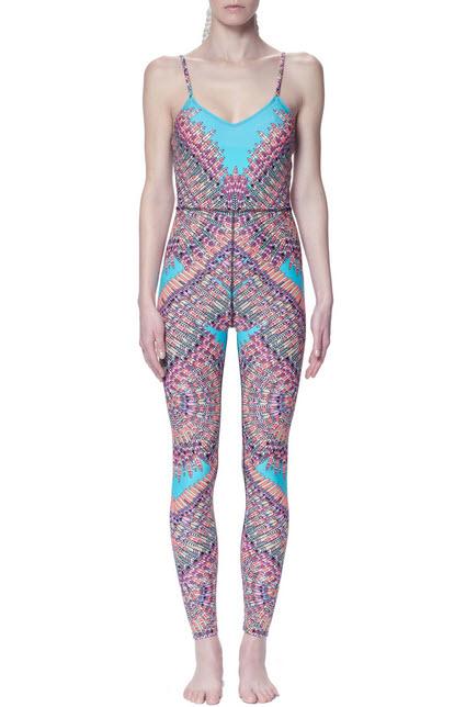 Mara Hoffman Activewear with Vivid Pattern and Color_2