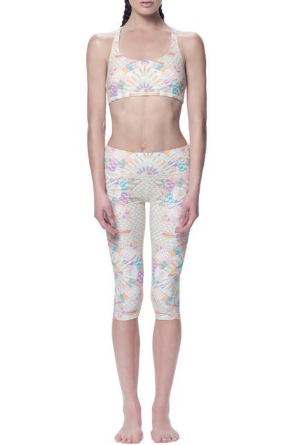 Mara Hoffman Activewear with Vivid Pattern and Color_4