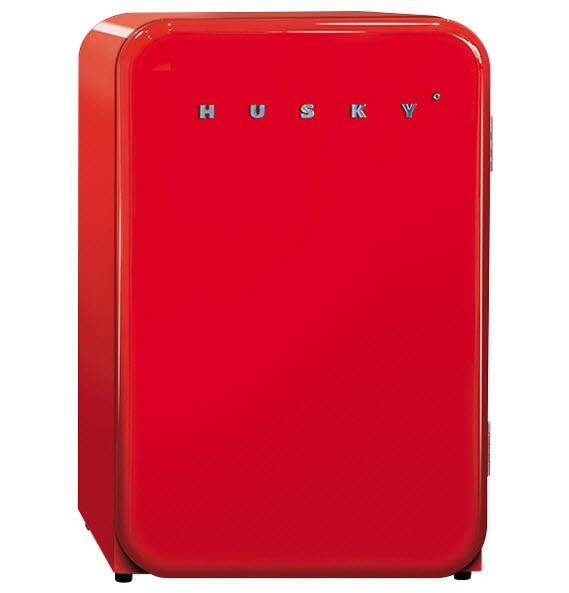 Mini Husky Retro Refrigerator Radiant Red