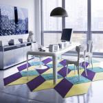 Colorful Modular Carpet Tiles from FLOR_11